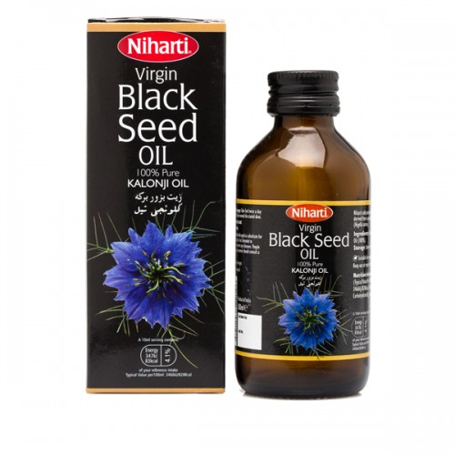 Niharti Virgin Black Seed Oil (Kaloonji Oil) 100ml