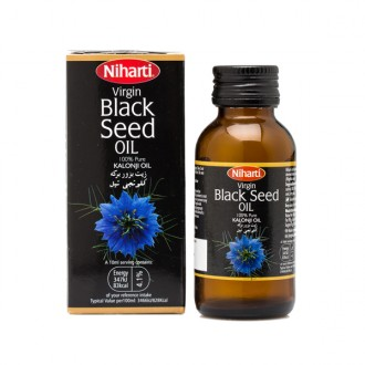 Niharti Virgin Black Seed Oil (Kaloonji Oil) 50ml