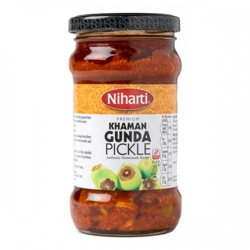 Niharti Premium Khaman Gunda Pickle 360g