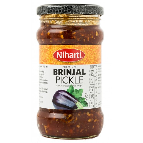 Niharti Premium Brinjal Pickle 350g
