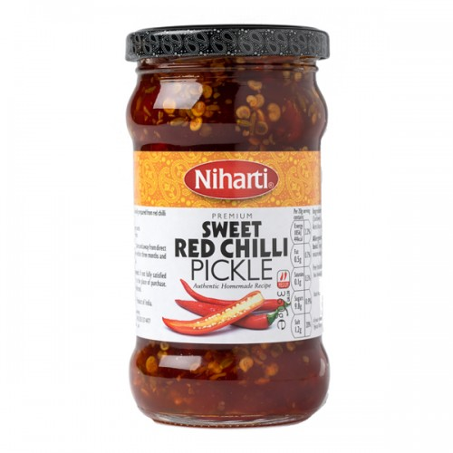 Niharti Premium Sweet Red Chilli Pickle 360g