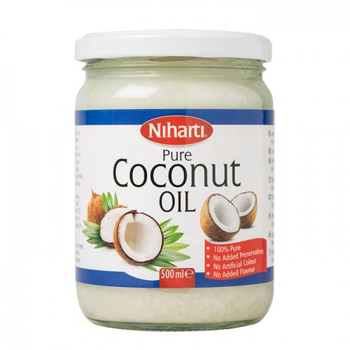 Niharti Coconut Oil Jars - 500ML