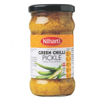 Niharti Premium Green Chilli Pickle 310g