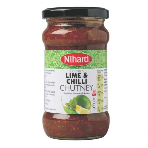 Niharti Premium Lime & Chilli Chutney 360g