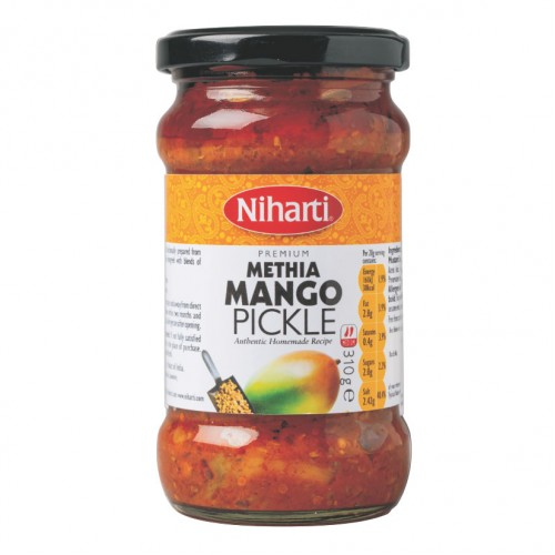 Niharti Premium Methia Mango Pickle 290g