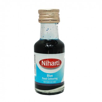 Niharti Liquid Food Colour Blue - 28ML