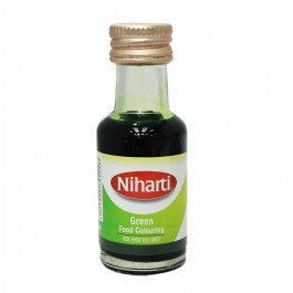 Niharti Liquid Food Colour Green - 28ML