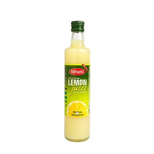 Niharti Pure & Natural Lemon Juice - 500ML