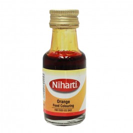 Niharti Liquid Food Colour Orange - 28ML