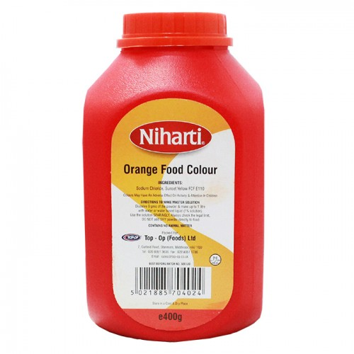 Niharti Food Colour Orange Large - 400G
