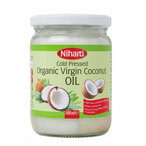 Niharti Organic Virgin Coconut Oil - 500 ml