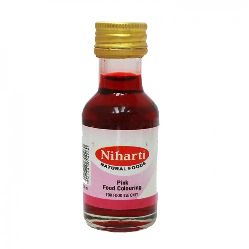 Niharti Liquid Food Colour Pink - 28G