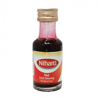 Niharti Liquid Food Colour Red - 28ML