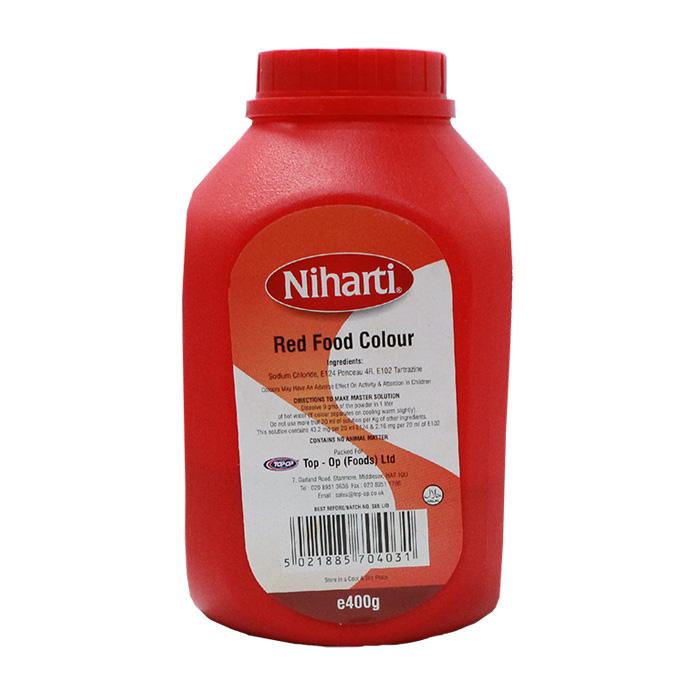 Niharti - Niharti Food Colour Red Large