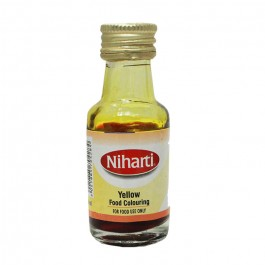 Niharti Liquid Food Colour Yellow - 28ML